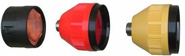 04S / 04T 2.5 inç tekli Prism gümüş kaplama veya içermeyen ve 04L Leica tipi tek Prizmalı bakır kaplama veya içermeyen