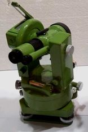 """J6E 6 """"yüksek doğruluk 360 / 400G Doğru görüntü Optik teodolit yapı ölçümü için"""